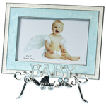 Blue Baby Frame with Stand