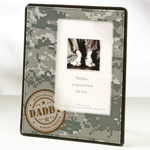 Camouflage Daddy Frame
