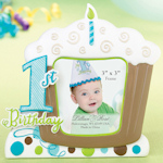 1st Blue Birthday Frame