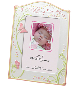 Butterfly Blessings Baby Frame imagerjs