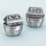Noah Ark Pewter Tooth & Curl Box