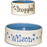 Personalized Ceramic Pet Bowl