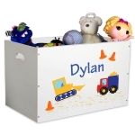 Personalized Toy Bin (75 Designs)