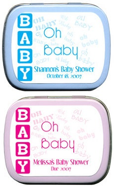Filled Oh Baby - Personalized Baby Shower Tin imagerjs