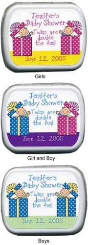 Filled Twin Gifts Fun Baby Shower Tin imagerjs