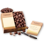Beech Wood Post-It Note Holder with Treats