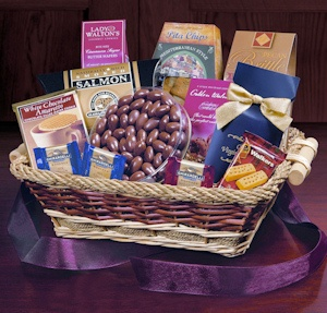 Holiday Celebration Snack Basket imagerjs