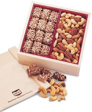 English Toffee & Mixed Nuts Collector's Box image