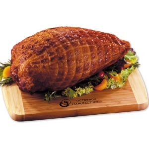 Boneless Smoked Turkey Breast with Cutting Board imagerjs