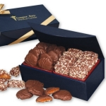 Gourmet Treats in Magnetic Closure Logo Gift Box