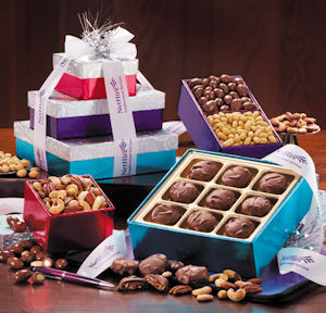 Maple Ridge Dazzling Delights Gift Tower imagerjs