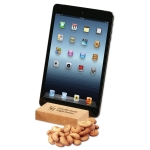 Hard Maple iPad Holder Tablet Stand with Treat Choice
