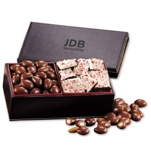 Corporate Logo Faux Leather Gift Box imagerjs