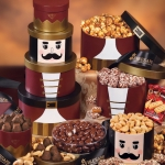 Nutcracker Christmas Goodie Tower