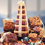 Sweet & Savory Christmas Gift Tower