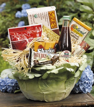 Gourmet Organic Gift Basket data-pin-no-hover=