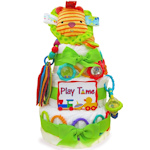 Playtime Baby Three Tier Diaper Cake