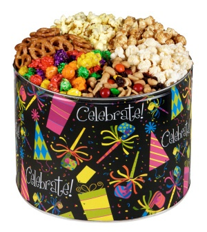 Celebration Popcorn Gift Tin image