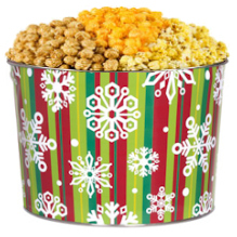 Holiday Happiness Popcorn Tin imagerjs