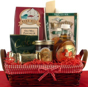 Rise and Shine Breakfast Gift Basket data-pin-no-hover=