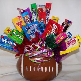 Football Candy Bouquet image