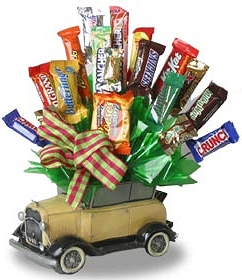 Car Candy Bouquet data-pin-no-hover=