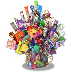 Birthday Surprise Candy Bouquet image