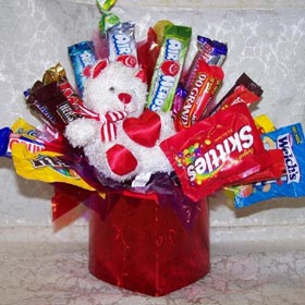 Sweetie Pie Candy Bouquet image