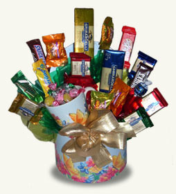 Mother's Day Sweets Candy Bouquet data-pin-no-hover=