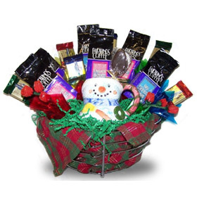 Christmas Coffee Break Basket image