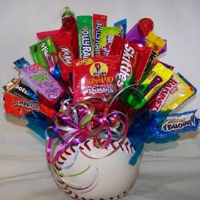 Play Ball! Candy Bouquet image