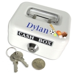 Personalized Mini Cash Box