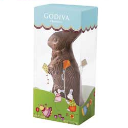 Godiva Chocolate Easter Bunny data-pin-no-hover=