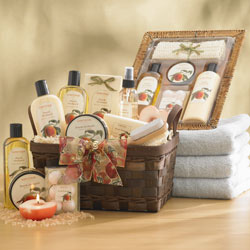 Just Peachy Spa Gift Basket image