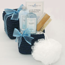 Serenity Bath & Body Gift Set data-pin-no-hover=