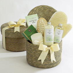 Green Tea Relaxation Gift Basket image