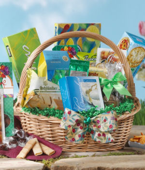 Spring Celebration Gift Basket data-pin-no-hover=