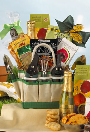 The Gardening Gourmet Gift Tote data-pin-no-hover=