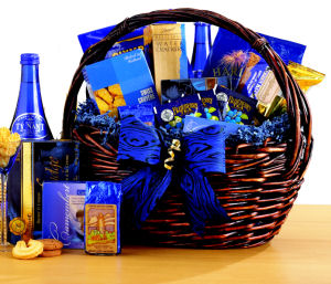 Gourmet's Delight Gift Basket data-pin-no-hover=