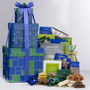 Sweet and Savory Splendid Gift Tower imagerjs