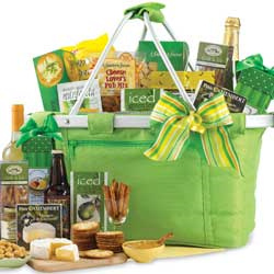 Collapsable Carry-all Picnic Gift Basket image