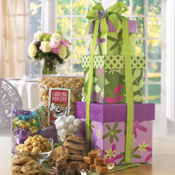 Sunny Wishes Gourmet Gift Tower image