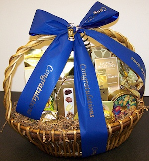 Custom Congratulations Basket imagerjs