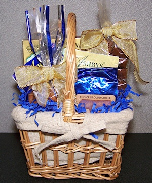 Custom Wicker Snack Basket imagerjs