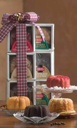 Mini Bundt Cake Tower image