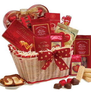 All Sweet Valentine Gift Basket data-pin-no-hover=