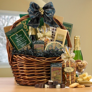Gourmet Thank You Gift Basket imagerjs