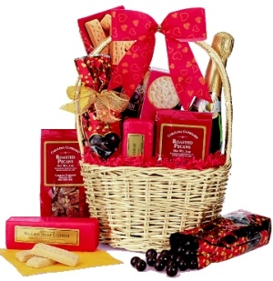 Valentine's Day Celebration Basket data-pin-no-hover=