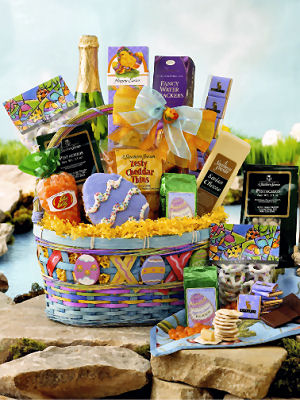 Blue Skies Easter Basket data-pin-no-hover=
