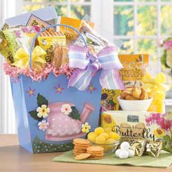 Spring Sensation Gift Bucket data-pin-no-hover=